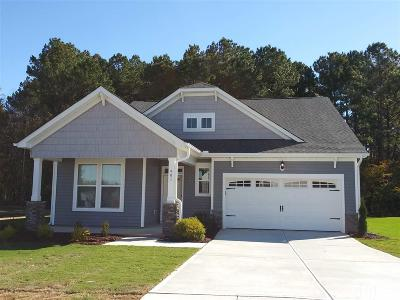 Youngsville Single Family Home Pending: 401 Porter Hill Drive #The Bris