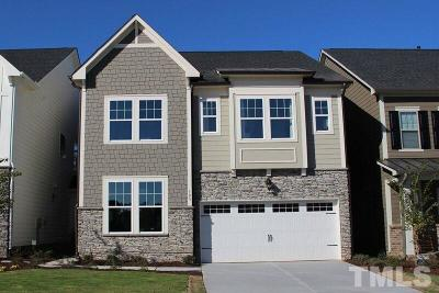Wake County Townhouse For Sale: 105 White Hill Drive
