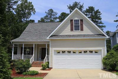 Wake Forest NC Single Family Home For Sale: $260,000