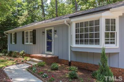 Raleigh Single Family Home For Sale: 724 Richmond Street