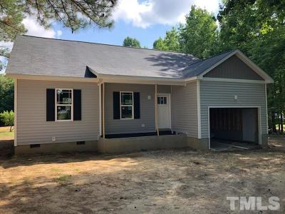 Johnston County Single Family Home For Sale: 2620 Nc 231 Highway