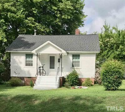 Chapel Hill Single Family Home For Sale: 703 Church Street