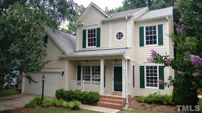 Raleigh Single Family Home For Sale: 8833 Braceridge Road