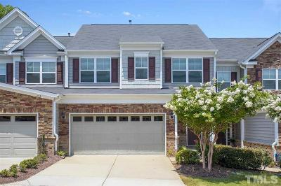 Cary Townhouse For Sale: 711 Grace Hodge Drive