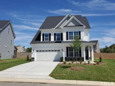 Knightdale Single Family Home For Sale: Lot 283 Slate Ridge Road