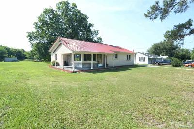 Dunn Single Family Home Contingent: 434 Jernigan Road
