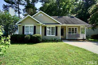 Wake Forest NC Single Family Home For Sale: $180,000