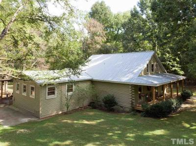 Wake Forest Single Family Home For Sale: 8808 Ligon Mill Road