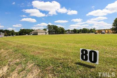 Johnston County Residential Lots & Land For Sale: 104 Cedar Springs Drive