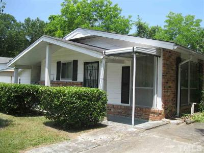 Raleigh Single Family Home For Sale: 903 Hadley Road