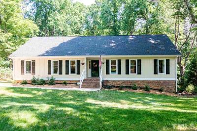 Raleigh Single Family Home For Sale: 209 Trails End Court