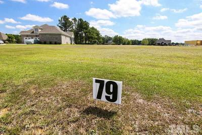 Johnston County Residential Lots & Land For Sale: 144 Cedar Springs Drive