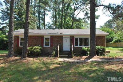 Raleigh Single Family Home For Sale: 1913 Barwell Road
