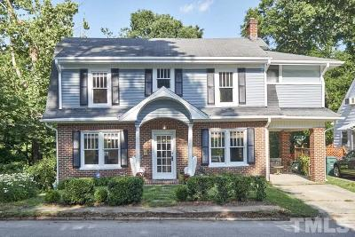 Durham Single Family Home For Sale: 1403 Vickers Avenue