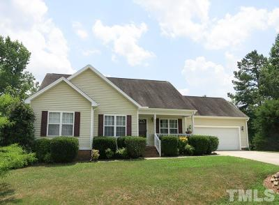 Johnston County Single Family Home For Sale: 113 Ashton Court