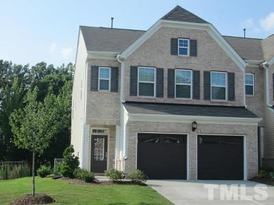 Morrisville Townhouse For Sale: 364 Durants Neck Lane