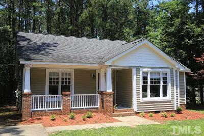 Youngsville Single Family Home Pending: 160 Shiloh Lane