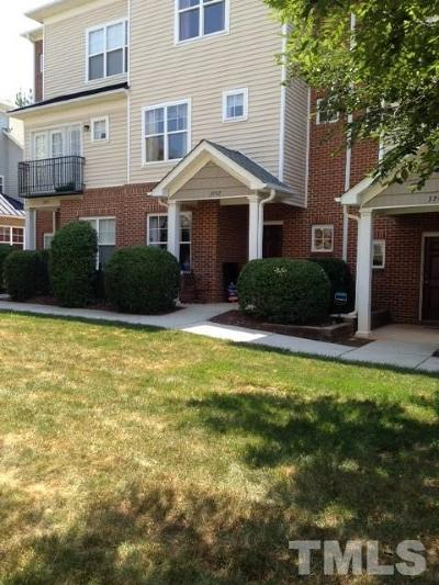 Raleigh NC Townhouse For Sale: $234,900