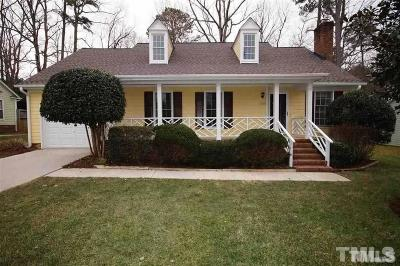 Raleigh Single Family Home Pending: 11901 N Exeter Way