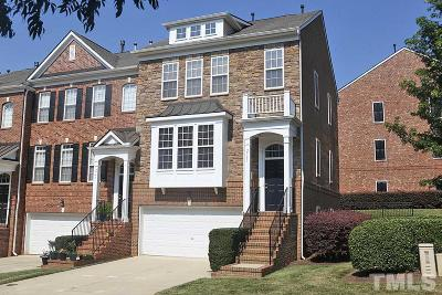 Raleigh Townhouse Contingent: 2751 Laurelcherry Street