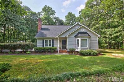 Youngsville Single Family Home Pending: 161 Baron Circle