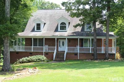 Granville County Single Family Home Pending: 4526 Range Road