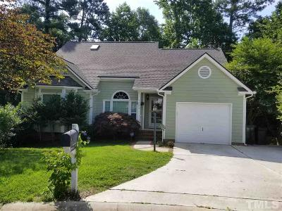 Raleigh NC Single Family Home For Sale: $289,000