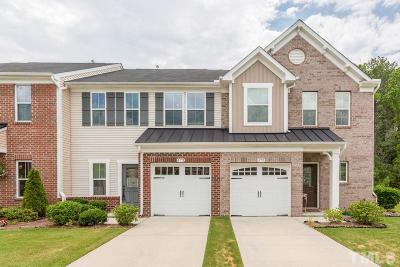 Cary Townhouse For Sale: 473 Panorama View Loop