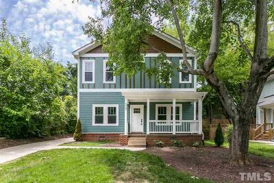 Raleigh Single Family Home For Sale: 508 Freeman Street