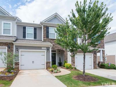 Raleigh Townhouse For Sale: 2428 Memory Ridge Drive