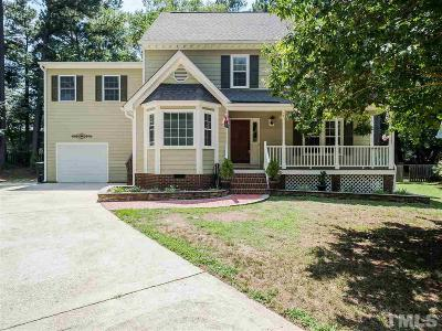 Raleigh Single Family Home For Sale: 6605 Champaign Place