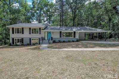 Durham Single Family Home For Sale: 2909 Welcome Drive
