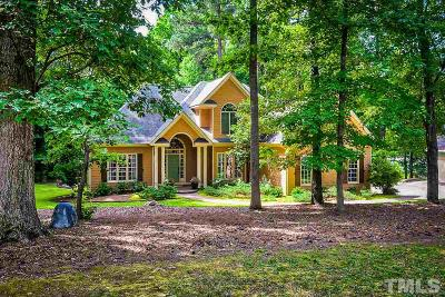 Wake County Single Family Home For Sale: 15512 New Light Road