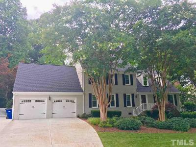 Raleigh Single Family Home Pending: 7109 Grist Mill Road
