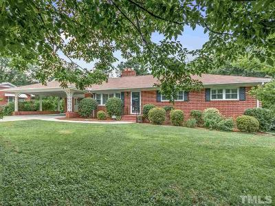 Durham Single Family Home For Sale: 2720 Princeton Avenue