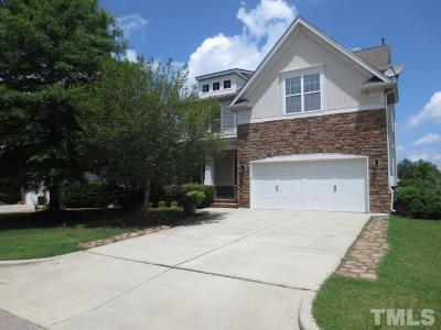 Cary Single Family Home For Sale: 413 Euphoria Circle