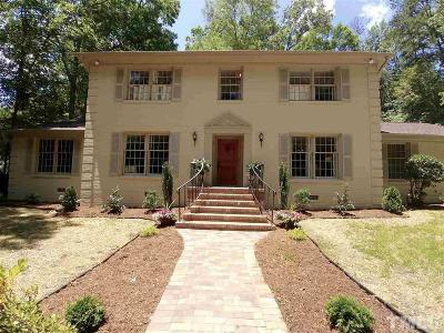 Chapel Hill Single Family Home For Sale: 509 Red Bud Road