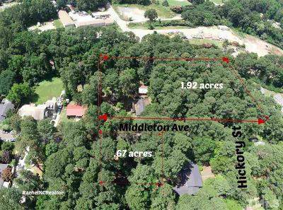Wake County Residential Lots & Land For Sale: 317 Middleton Avenue