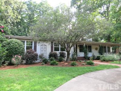 Raleigh Single Family Home For Sale: 704 Currituck Drive