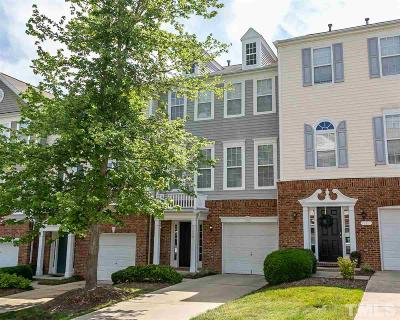 Raleigh Townhouse For Sale: 7006 Valerie Anne Drive