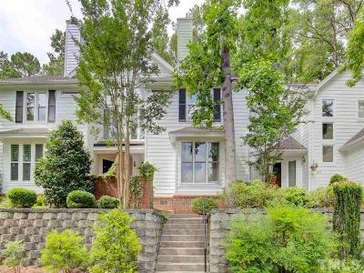 Raleigh Townhouse For Sale: 3815 Carnegie Lane