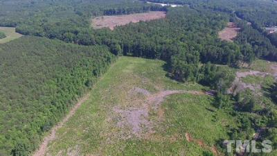 Granville County Residential Lots & Land For Sale: Oxford Loop Road