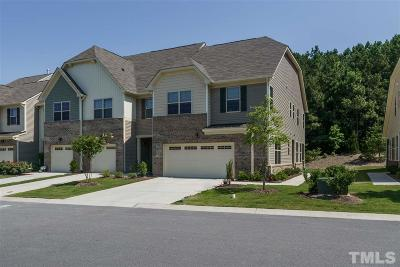 Cary NC Townhouse For Sale: $317,500