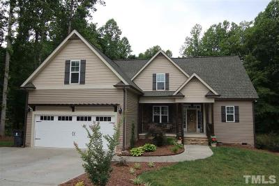 Granville County Single Family Home For Sale: 3656 Coughlin Court