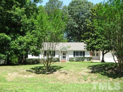 Fuquay Varina Single Family Home For Sale: 1412 Andersonwood Drive