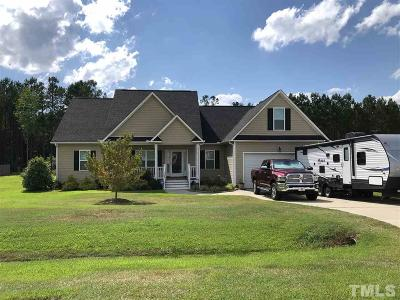 Johnston County Single Family Home Contingent: 53 Brandywood Drive
