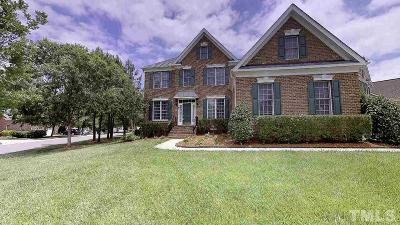 Raleigh Single Family Home For Sale: 10320 Sporting Club Drive
