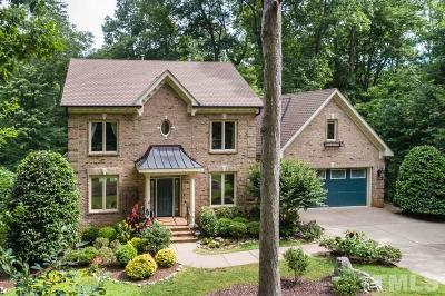 Raleigh NC Single Family Home For Sale: $750,000