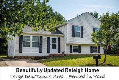 Raleigh Single Family Home For Sale: 5517 Bellcamp Court