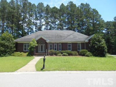 Johnston County Single Family Home For Sale: 101 Lake Ridge Drive